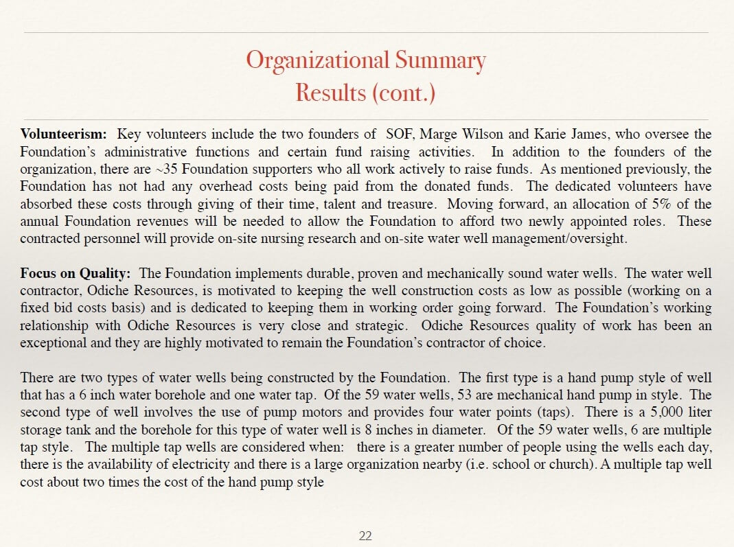 organizational overview definition